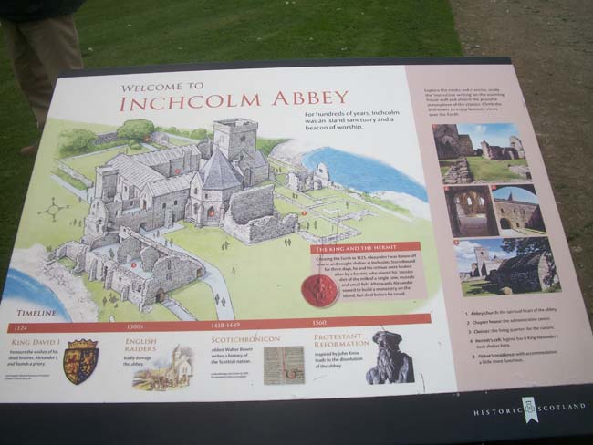 Inchcolm Abbey 1